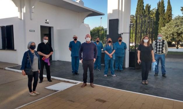 Inauguraron obras de remodelación en el Cementerio