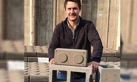 Prodeman fabrica ladrillos con cenizas de cáscara de maní