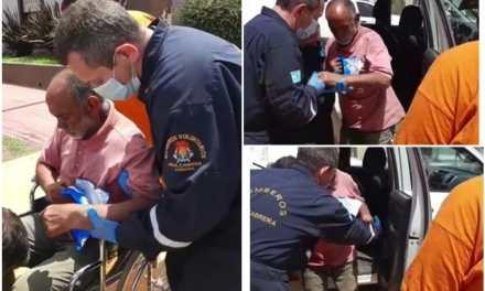 Apareció  con vida Pepe Deheza, será trasladado Hospital para analizarlo