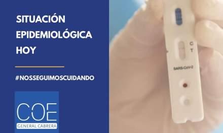 Cabrera – Situación epidemiológica del martes 29 de Diciembre