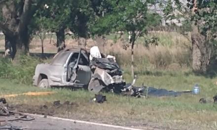 Carnerillo – Accidente entre un camión y una camioneta… Una persona fallecida
