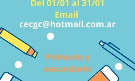 El CEC entrega kit escolares a hijos de Empleados de Comercio