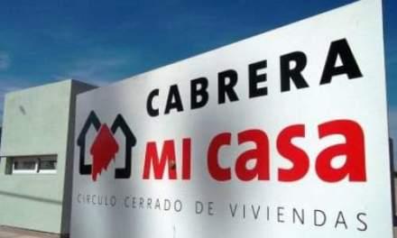 Cabrera Mí Casa 9 – Hasta el 25/01 hay tiempo para pagar la cuota inicial