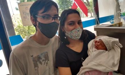 Franchesca es la primer bebé del 2021 nacida en el Hospital de Cabrera
