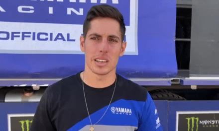 Nicolas Cavigliasso habló luego de la salida del Dakar.