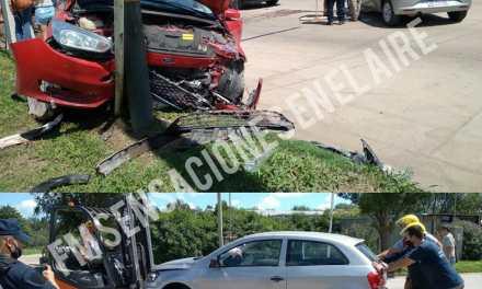 Accidente Av San Martín y Colón