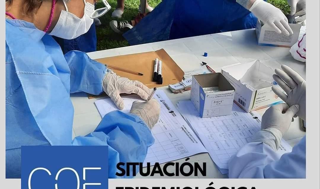 Situación epidemiologica 9 de febrero