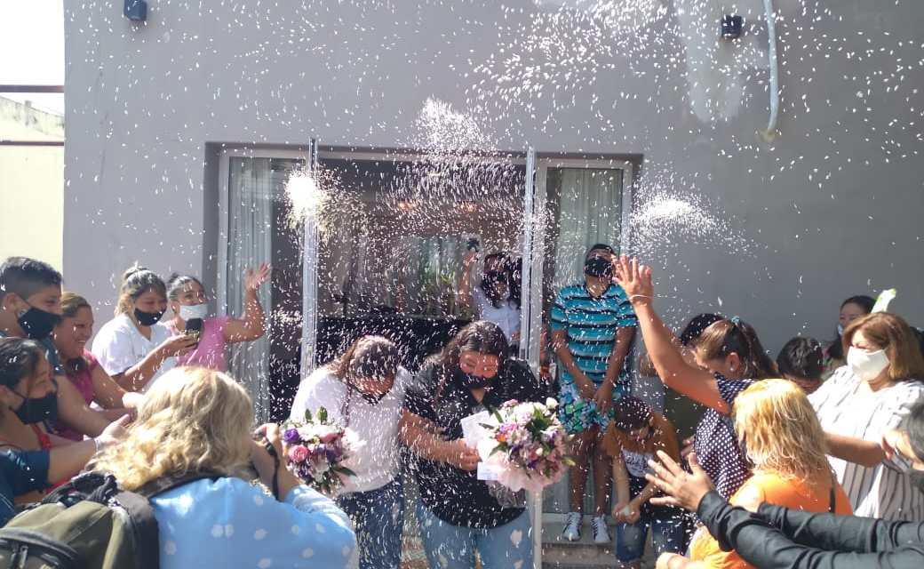 Primer matrimonio igualitario en la ciudad