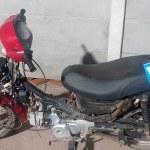Secuestro de motovehículo  denunciado como sustraído