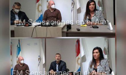 LA SENADORA NACIONAL LAURA MACHADO VISITO GENERAL CABRERA