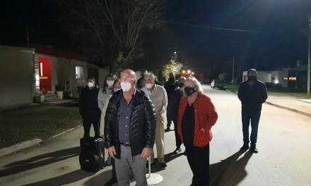 56 nuevas luminarias para Barrio Malvinas e IPV