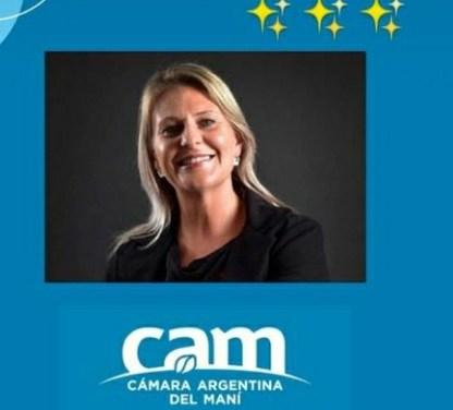 La Ingeniera Industrial Ivana Cavigliasso es la nueva Presidente de la Cámara Argentina del Maní