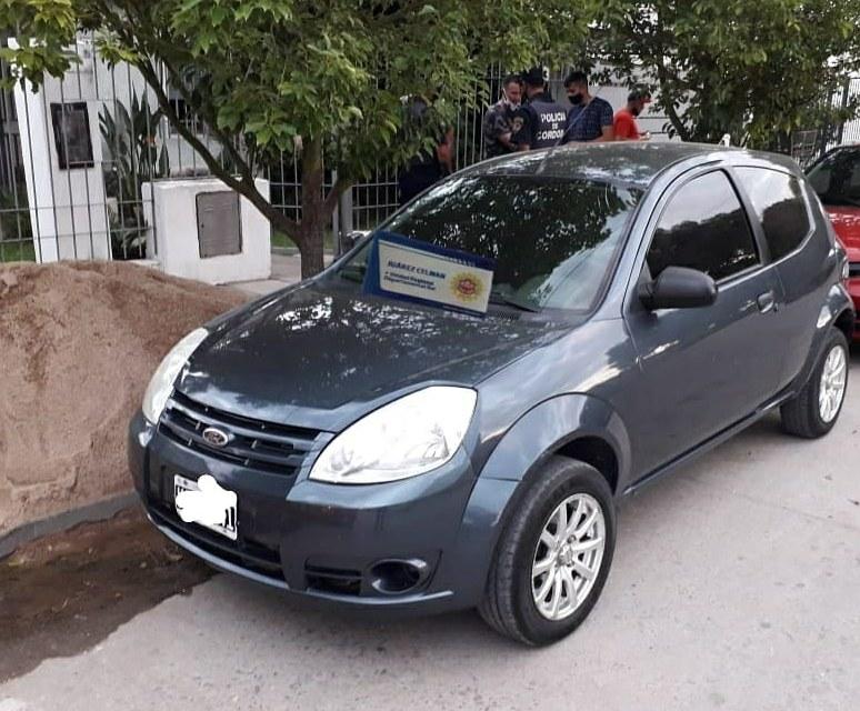 Deheza: secuestro de vehículo relacionado a hecho de estafa