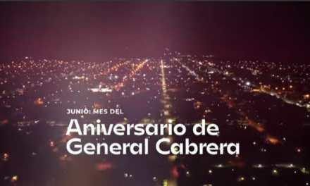 Gral. Cabrera – 30 de Junio: «Inauguraciones por el aniversario de la ciudad»