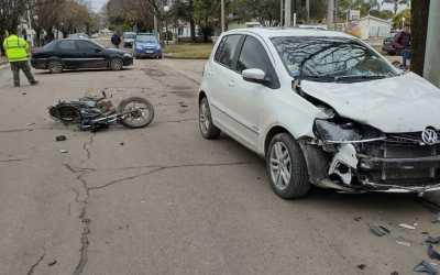 Joven de Cabrera accidentado en Deheza