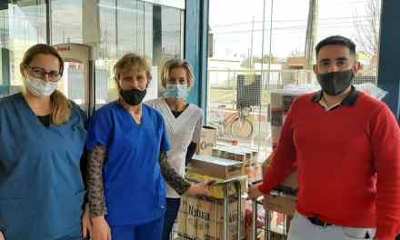 Super Top donó mercadería para el Hospital