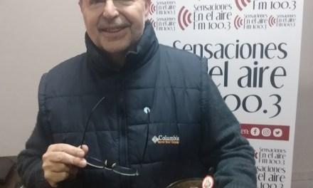 El Padre Jorge Soldera visitó la radio y saludó por el «Día del vecino»