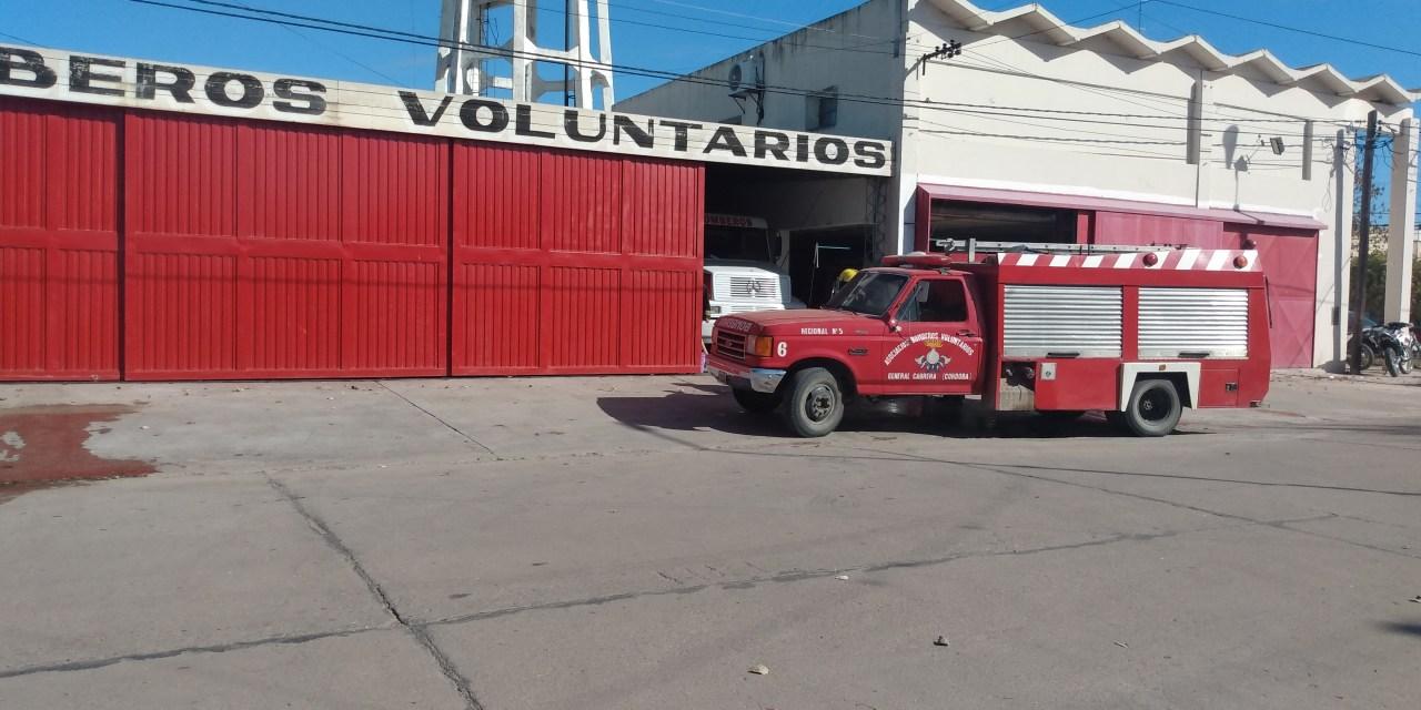 Salida de Bomberos – Incendio en zona rural