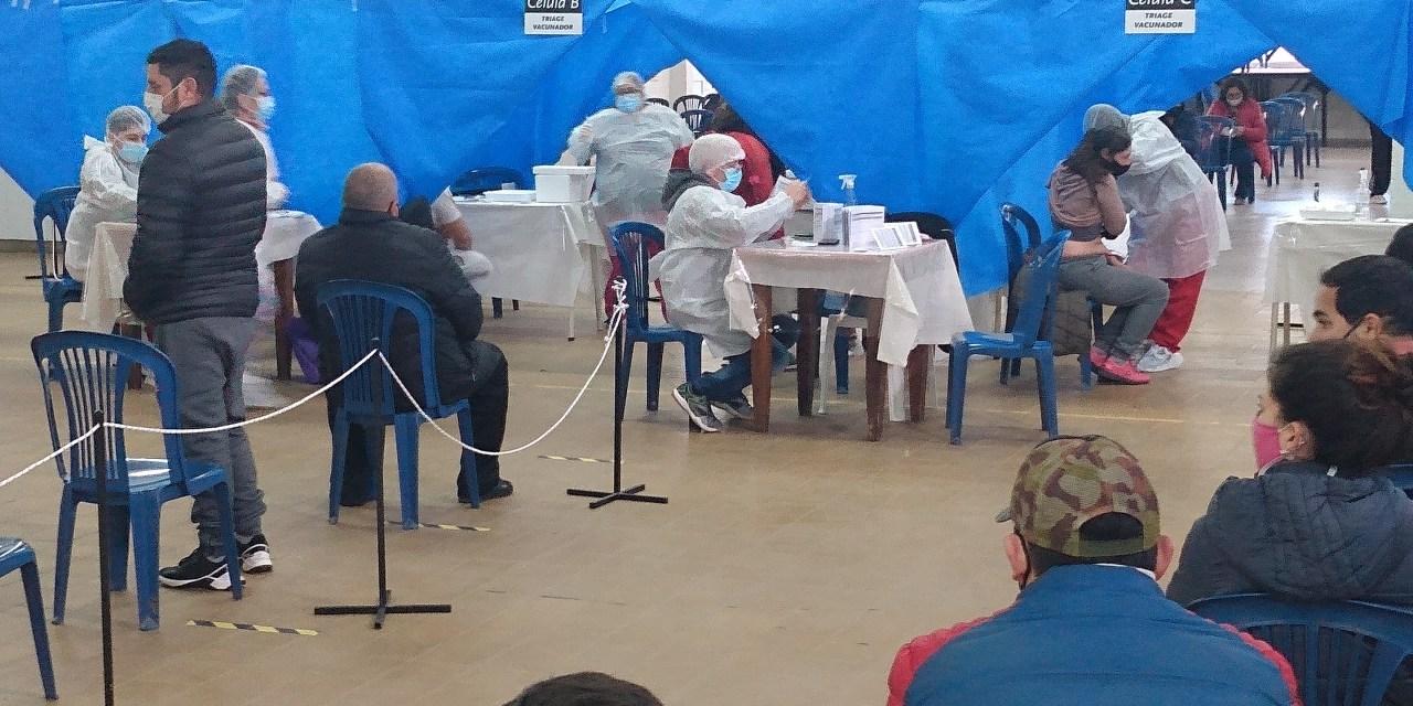 Nueva jornada de vacunación – se colocaron 368 de vacunas Sinopharm primer componente