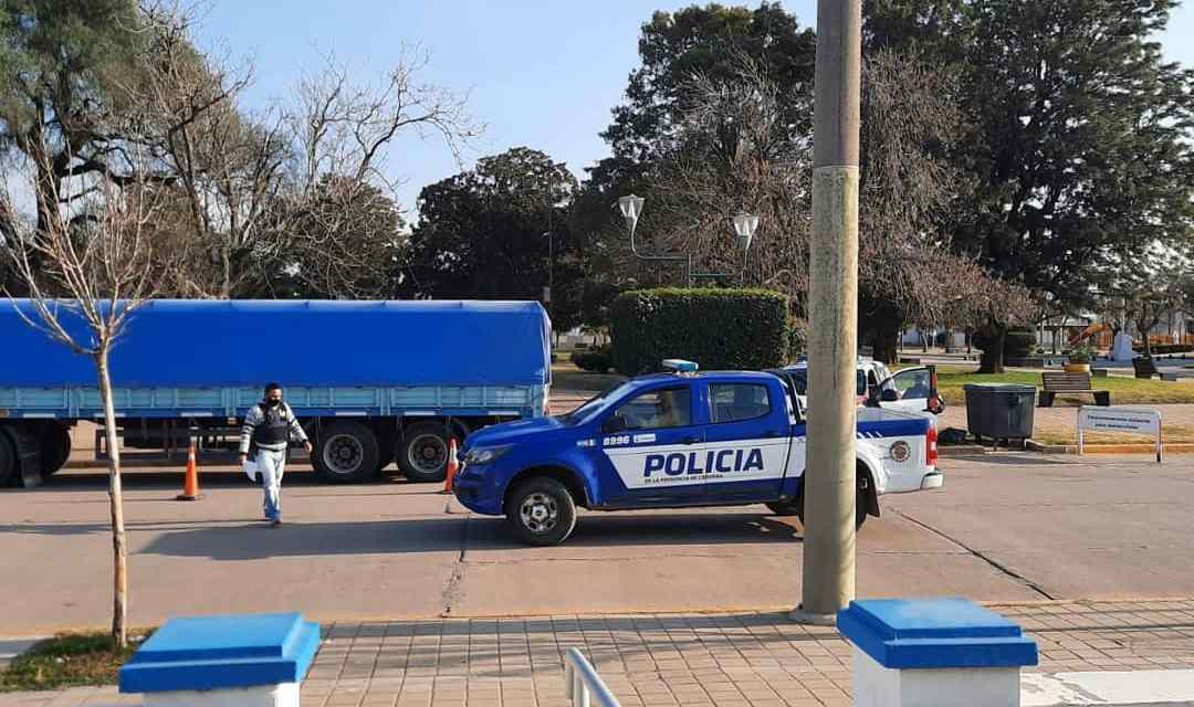 Secuestro de 8 camiones en la región , uno de ellos en Cabrera