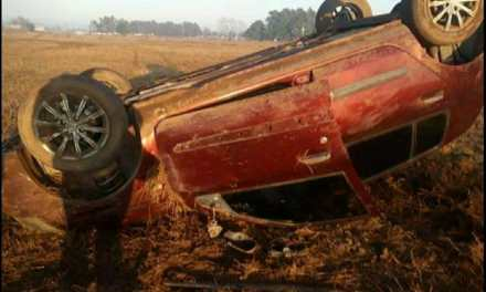 CABRERA: Robaron su vehículo y apareció dado vuelta