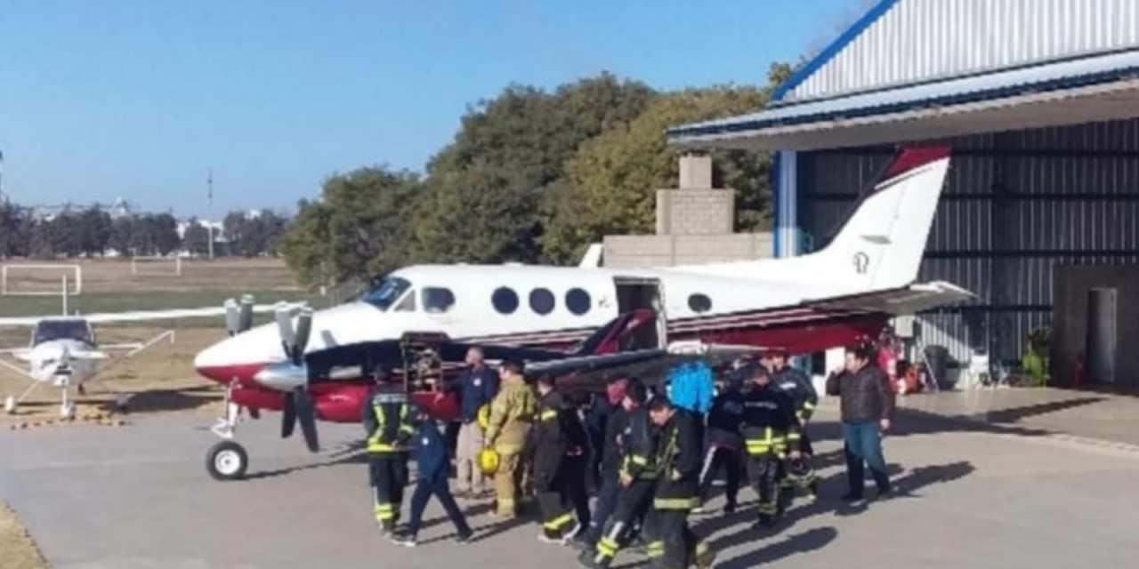 Bomberos – Capacitación de incendios en Aeronaves