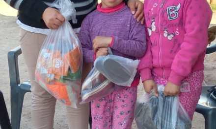 120 familias beneficiadas con la campaña de «Cabrera Solidaria»