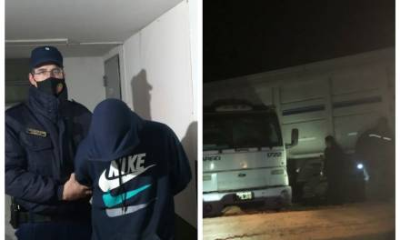 Carnerillo:  Conducía un camión  en estado de ebriedad
