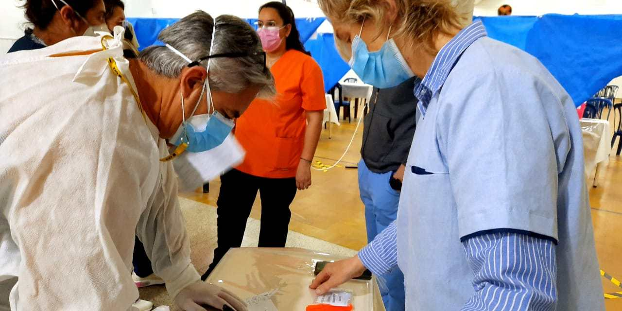 Operativo rastrear, hisopados por un «Regreso seguro»