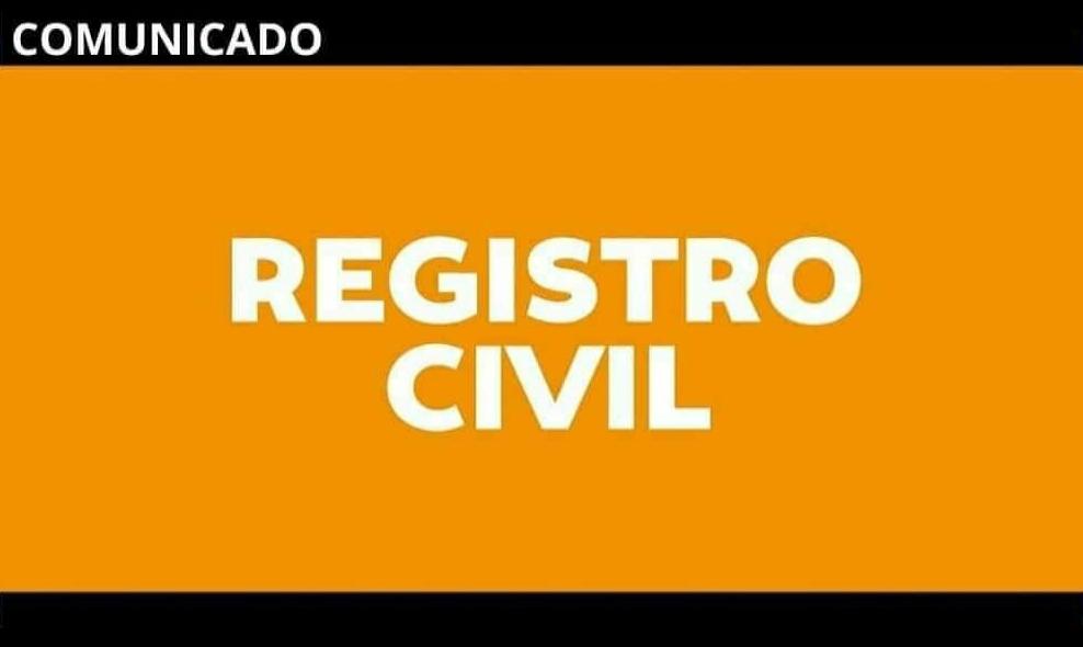 Entrega de DNI – Información del Registro Civil
