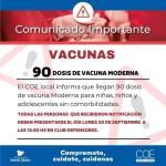 Llegan vacunas modernas para niños sin comorbilidad
