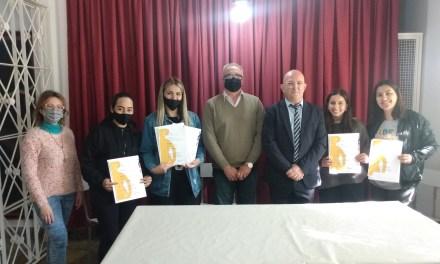 El Municipio hizo un reconocimiento al cuarteto de Malambo femenino campeón provincial