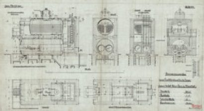 Plan from 1909: brought into Christof Industries by engineers from FMT