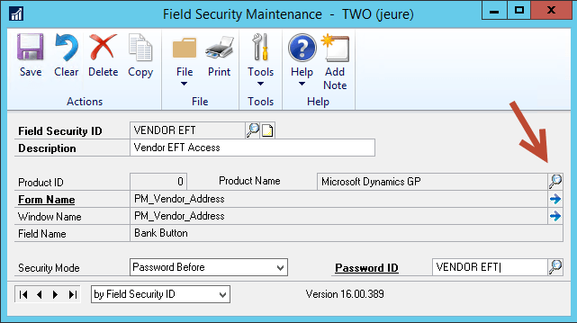 Field Level Security - ID and Description