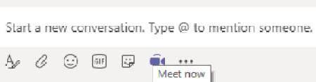 Teams conversation tab image