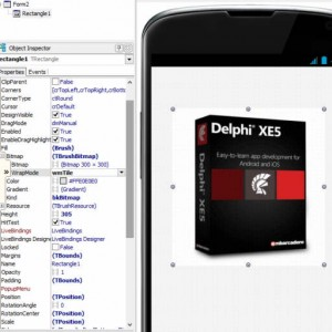 Delphi XE5 Firemonkey Fast Rectangle Bitmap