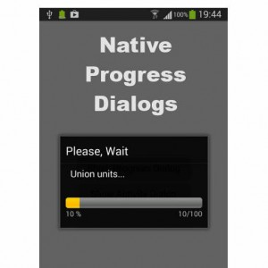 Delphi XE6 Firemonke Native Progress Dialogs