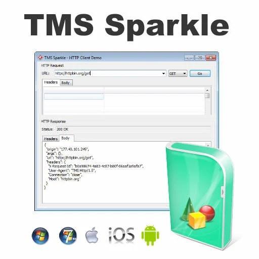 TMS Sparkle Native API HTTP Client Server For Delphi XE5