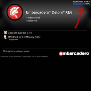 Delphi XE6 Firemonkey IDE Fix Patch Speed Up
