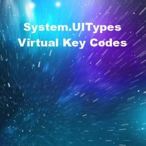 Delphi XE6 Firemonkey Virtual Key Codes