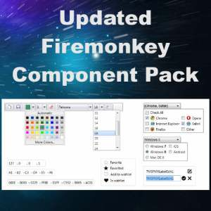 Delphi XE7 Firemonkey TMS Pack Component Suite Android IOS