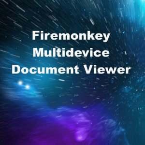 Delphi XE7 Firemonkey Cross Platform Document Viewer