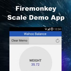 Delphi XE7 Firemonkey Appmethod Wahoo Scale Demo Android