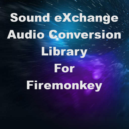 libSOX Audio Conversion Library For Delphi XE7 Firemonkey On