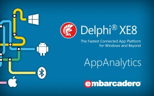 Track App Usage With Analytics Components In #Delphi XE8 Firemonkey On #Android And #IOS