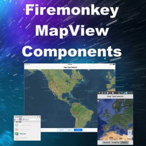 Delphi XE8 Firemonkey Mapping Components For Android And IOS