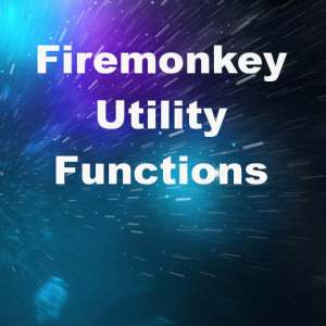Delphi XE8 Firemonkey File String Utility Functions Android IOS