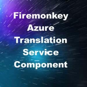 Delphi XE8 Firemonkey Azure Language Translation Android IOS