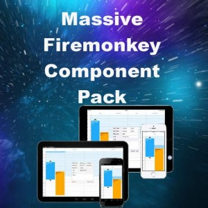 Delphi XE8 Firemonkey Component Pack Android IOS Windows Mac