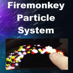 Delphi XE8 Firemonkey Particle Effect System Android IOS